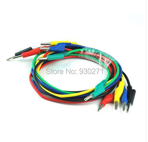 50cm/pcs,4mm 16AWG Silicone High Voltage Banana to Banana Plugs Test
