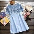 Для беременных одежда для беременных короткая - рукав верхний без тары лето для беременных платье