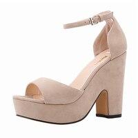 LOSLANDIFEN Women Sandals Sexy High Heels Platform Shoes Pumps Women S Dress Fashion Wedding Shoes Lady