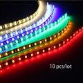 10 Pçs/lote 30 cm 18 luzes LED Diurnas DC 12 V 5050 SMD ip65Waterproof Auto Carro COB DRL Fog Driving lâmpada Flexível Tira CONDUZIDA
