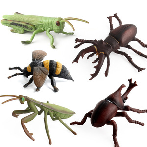 Image 5 - High Quality Simulation Insects Model Toys Mantis Bees Butterfly Spider Animal Model Collection Toys for Kid Children Gifts