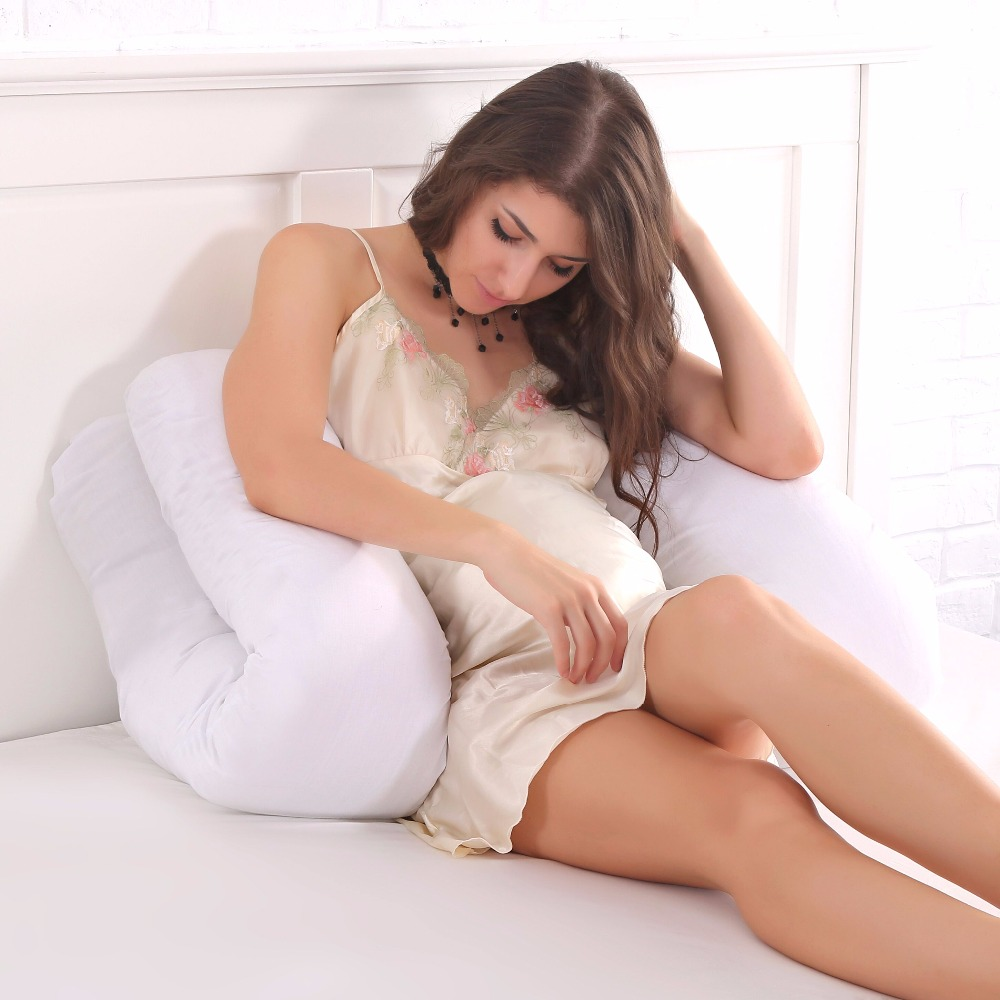 U shape 130 70CM Maternity pillows pregnancy Comfortable Body pregnancy pillow Women pregnant Side Sleepers cushion in Body Pillows from Home Garden