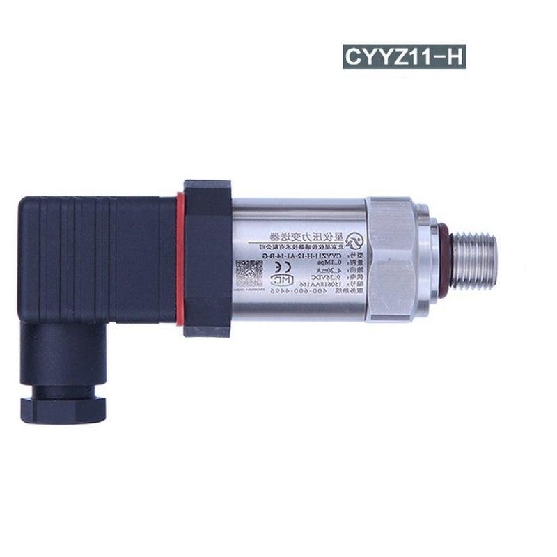 universal diffusion silicon 0.25% accuracy hydraulic pressure gauge gas liquid pressure transmitter sensor 60mpa compact high temperature pressure transmitter vapor pressure transmitter diffusion silicon pressure sensor