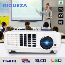 Riqueza x1800 novo curto lance luz do dia projetor para 1024*768 (xga) 3800 lumens, educação