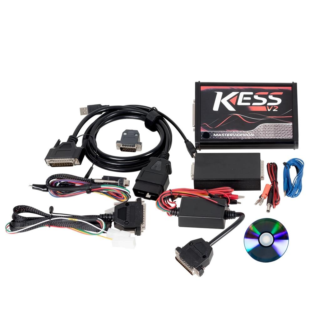Image 5 - KTAG V7.020 Master K TAG 7.020 KESS V2 5.017 Red PCB Euro ECU Chip Tuning Tool K TAG Full Adapters OBD2 ECU Programmer on