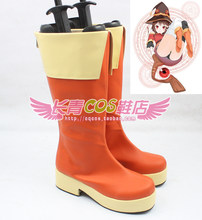 Kono Subarashii Sekai ni Shukufuku wo KonoSuba Megumin cosplay Shoes Boots Custom Made 4158(China)