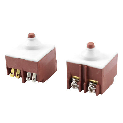 2 X FA6-5/1D-24 Trigger Switch AC 250V 8A For Bosch Angle Grinder 6-100