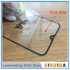 10pcs TOP QC For Samsung A41 A51 A20 A20E A30 A40 A50 A70 A90 M20 LCD Front Touch Screen Lens Glass with OCA Glue Replacement(China)