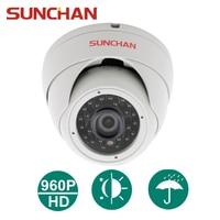 SUNCHAN AHD 1 3 CMOS 3 6MM 1500TVL CCTV Indoor High Resolution Dome Security Dome CCTV