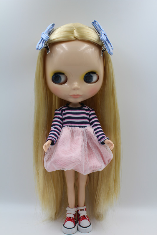 Free Shipping big discount RBL-302DIY Nude Blyth doll birthday gift for girl 4colour big eyes dolls with beautiful Hair cute toy free shipping big discount rbl 288diy nude blyth doll birthday gift for girl 4colour big eyes dolls with beautiful hair cute toy