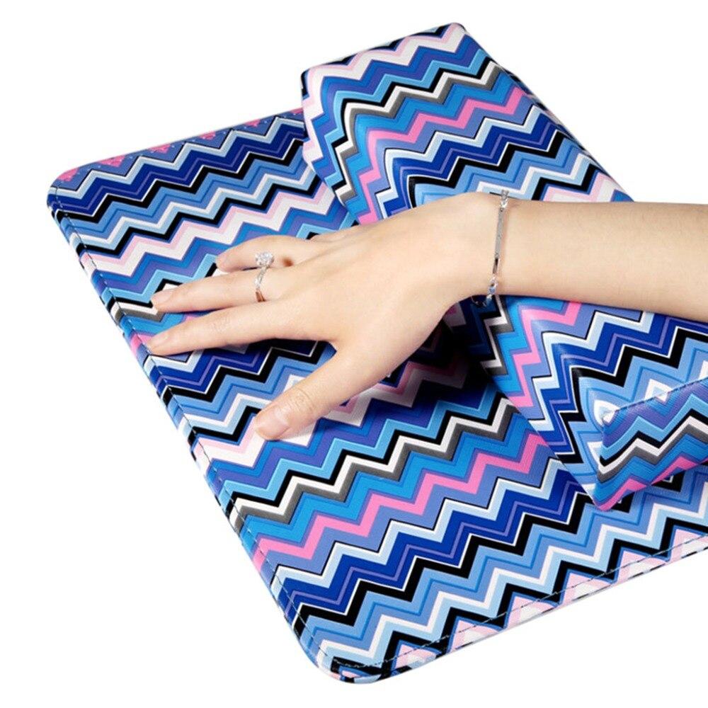Schönheit & Gesundheit Handauflagen Kemei Abnehmbare Nail Art Kissen Maniküre Hand Arm Rest Kissen Pad Kissen Leder Halter Nagel Pflege Werkzeuge Schrumpffrei