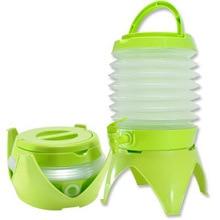 5.5L складной диспенсер для напитков пластиковый контейнер для воды для пикников на открытом воздухе кемпинг PAK55