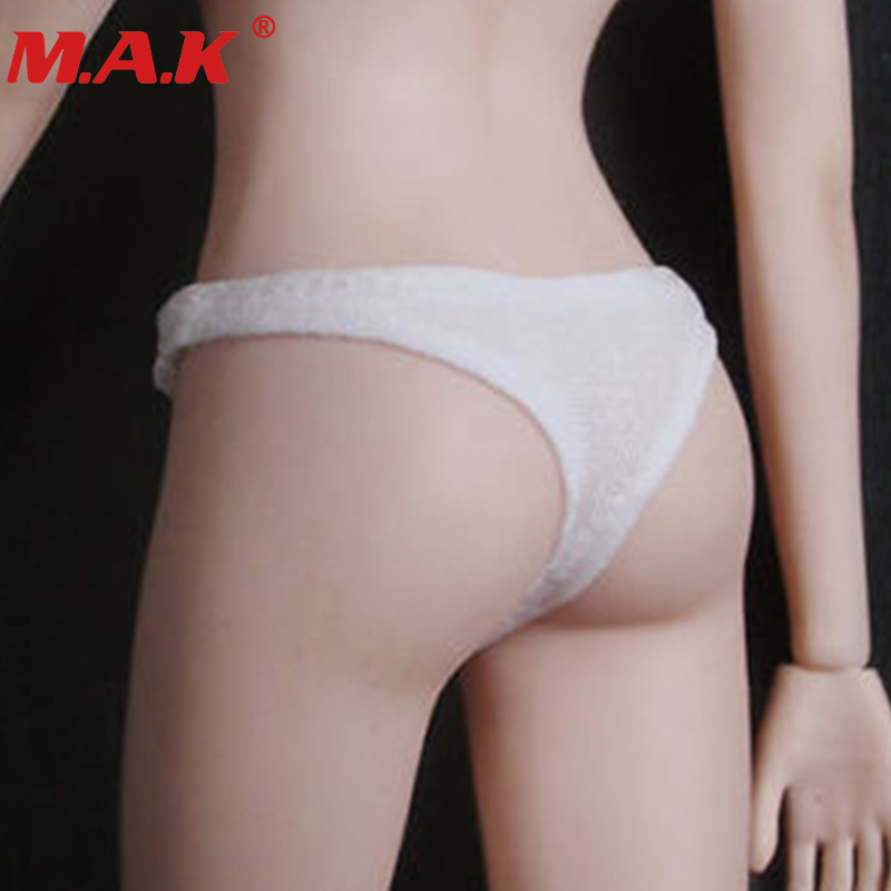 "1/6 Scale Female Girl Woman Sexy Lady Clothing Underwear Set Underpants Bikini Clothes Thong Set For 12"" Ph Doll Figures Body"