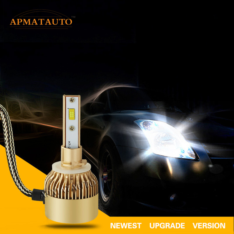 2x H1 H3 H27 880 881 For CREE Chips Led Replacement 18000Lm White 110W Fog Lamp Headlight Conversion Driving Bulb Car Light 12V 2pcs xenon hid white 25w high power 5 xcree xp e chips 881 h27 pgj13 led fog light driving drl bulbs