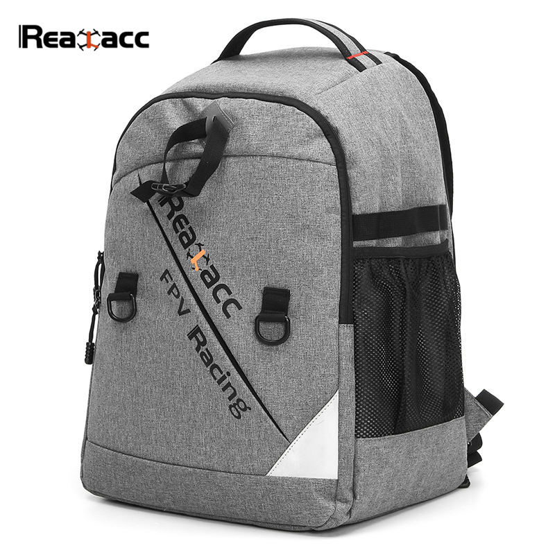 Realacc Waterproof Transmitter Beam port Bag Backpack Soft Case Suitcase For RC Models Drone FPV Racing