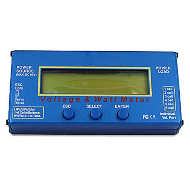 RC Helicopter <font><b>Watt</b></font> <font><b>Meter</b></font> DC 60V 100A Balance Voltage <font><b>Battery</b></font> Power Analyzer