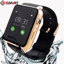 2016 neue Wasserdichte Pulsmesser Bluetooth Smart watch Smartwatch Unterstützung Sim-karte Für IOS Android-System Smartphone
