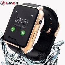 2016ใหม่กันน้ำH Eart Rate Monitorนาฬิกาบลูทูธสมาร์ทS Mart W Atchสนับสนุนซิมการ์ดระบบIOS A Ndroidมาร์ทโฟน