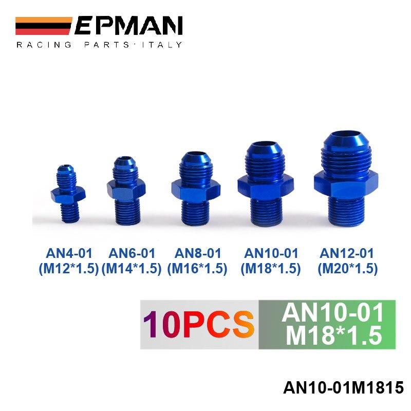 Prix pour Refroidisseur d'huile raccord AN10-01 (M18 * 1.5) H Q BLEU AN10-01M1815