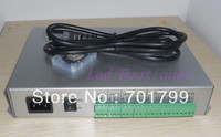 T 300K T300K SD Card online VIA PC RGB Full color led pixel module controller 8 ports 8192 pixels ws2811 ws2801
