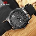 2016 Moda Casual Mens Relógios Top Marca de Luxo de Couro À Prova D' Água Relógios de Pulso de Quartzo Para Homens Relogio masculino