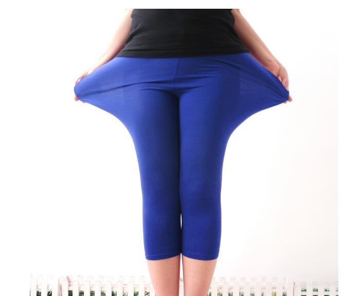 New Autumn Leggings Hot Selling Large Size Modal Leggings Trousers XXL Short Legging Pants Women Fashion Ropa Deporte