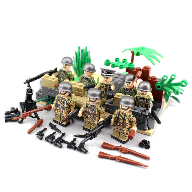 Berlin Bonfire MILITARY SWAT Soldier Compatible LegoINGlys MiniFigure Army Marines Building Blocks Bricks Toys Boys Gift