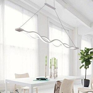 Image 2 - Modern LED Pendant Lights For Dining Room Kitchen Fixtures Home Bedroom Decor Suspension Hanging Lamp Restaurant Luminaire