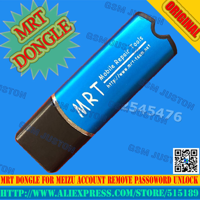 MRT mrt dongle  For Meizu unlock Flyme account or remove password support for Mx4pro/mx5/m1/m2/m1note/m2note