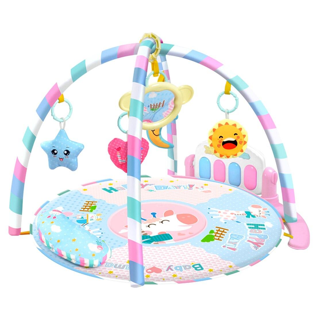 Rowsfire RC tapis de jeu activité Fitness tapis Musical Piano jeu jouets avec lumière pour bébé infantile jouer
