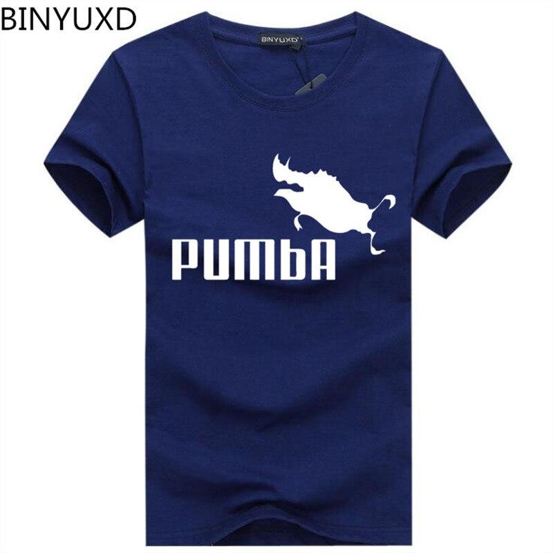BINYUXD Newest 2018 Summer Men T-shirt Fashion Brand Logo Print Cotton T shirt Men Trend Casual Short sleeve Tshirt Tops tee