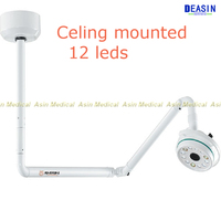 New 36W Ceiling Mount LED Surgical Medical lamp Exam Light Dental Shadowless Lamp 360 Rotation CE