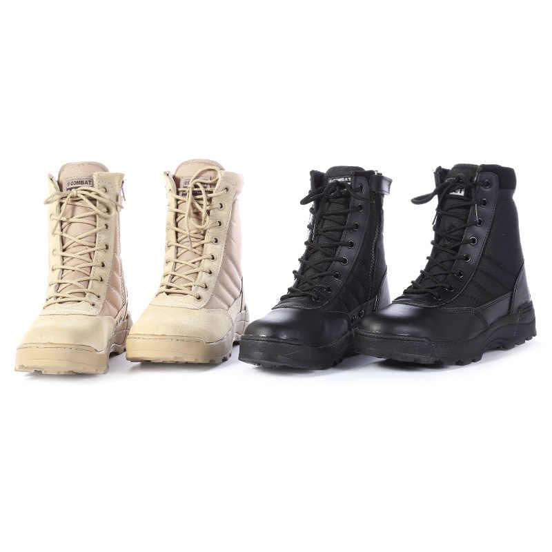 2018 американские кожаные ботинки в военном стиле для мужчин, боты, армейские ботинки Askeri Bot, армейские ботинки Erkek Ayakkabi hombre