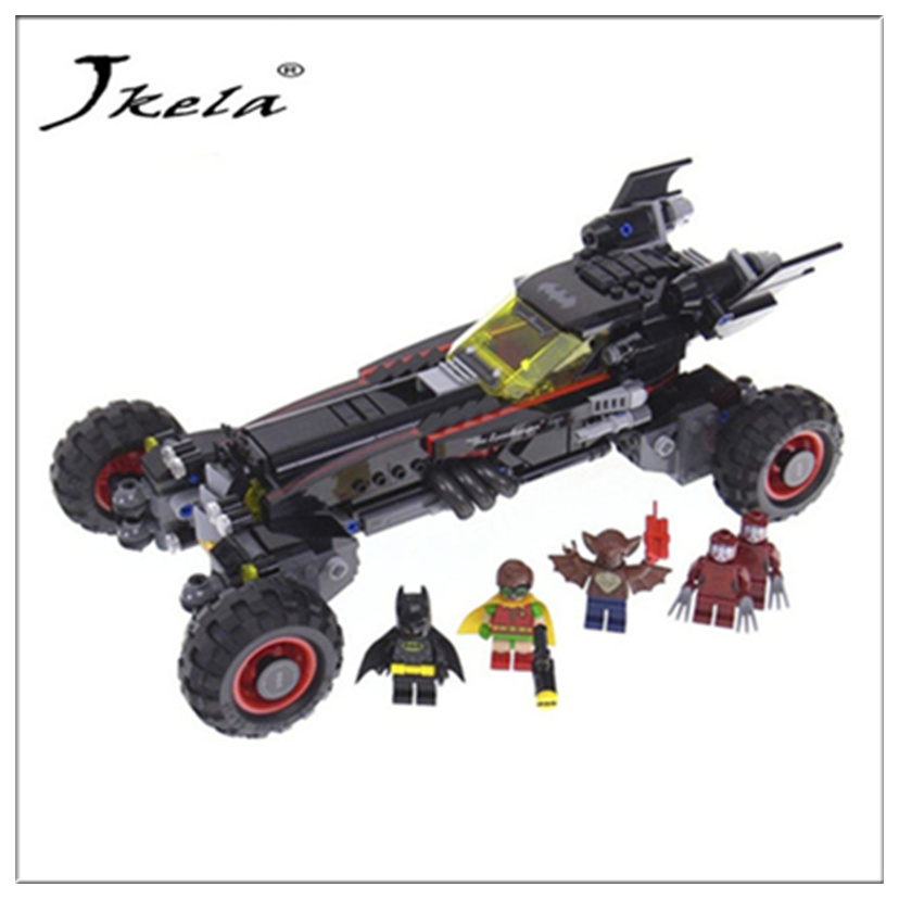 2017 Super Heroes Batman movie series building Blocks bricks Toys for Gifts children Compatible with Legoingly Batman single sale super heroes transparent predator the movie series one eyed alien building blocks for children gift toys kf812