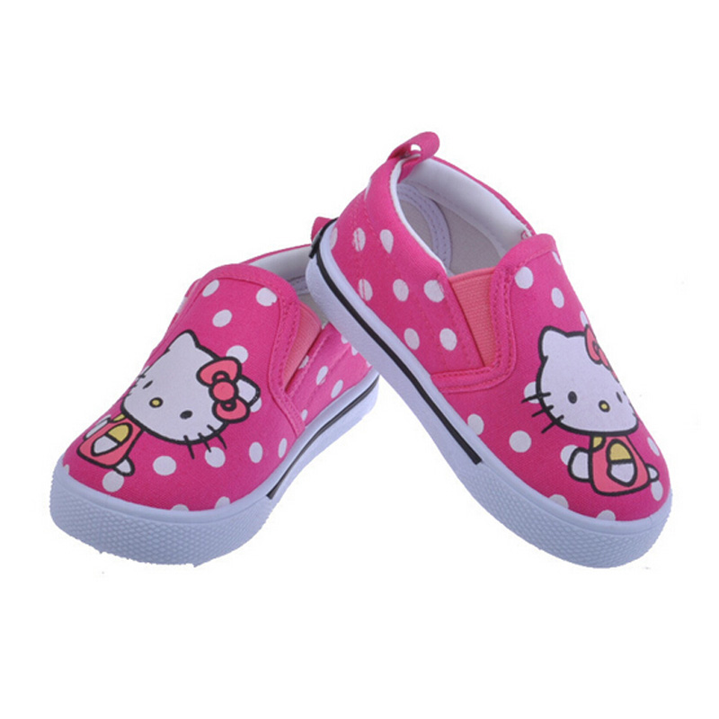Hello Kitty Kids Shoes 2016 Children Shoes Casual Canvas ...