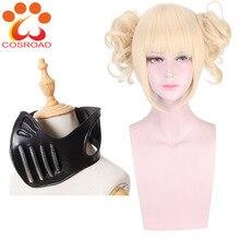 Cosroad Boku no My Hero Academy химико Тога косплей парик маска реквизит аксессуары для Хэллоуина Вечерние