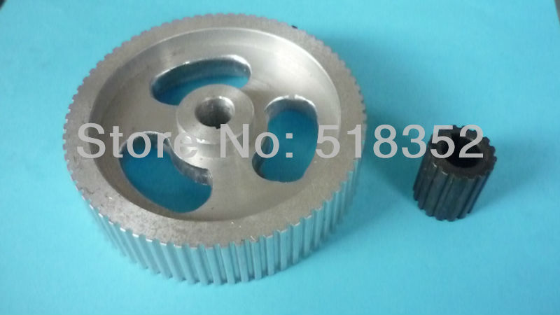 Aluminum Timing Gear Set Including Two Pieces large and small for EDM Wire Cut Machine Parts