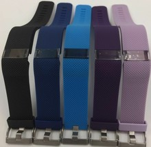 Wrist Strap For Fitbit Charge HR Wearable Devices Strap Silicone Watchband for Fitbit Charge HR Activity Tracker Metal Buckle