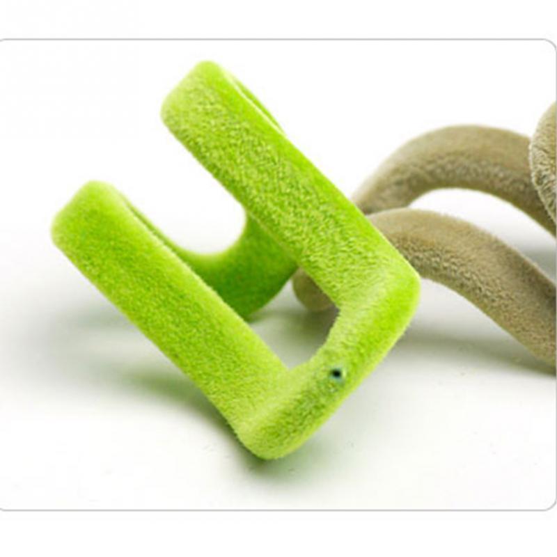 Easy Hook Closet Organizer Home Storage Accessory 10Pcs/set Anti Slip Mini  Flocking Clothes