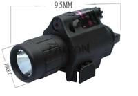 2015 LED Flashlight Combo Red Dot Sight BOB JGSD Tactical Riflescope Picatinny Rail Hunting Pistol Rifle