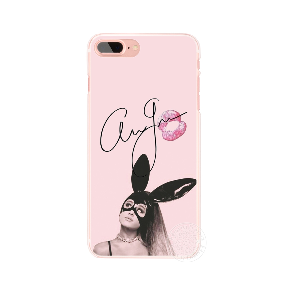Ag Ariana Grande Cat Cell Phone Cover Iphone 4 4S 5 5S SE 5C 6 6S 7 8 X Plus