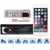 Autoradio ISO Bluetooth 1din Car Stereo In dash 1 Din Radio auto JSD520 FM Aux Input Receiver SD USB MP3 MMC WMA 12V Audio