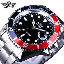 T-WINNER Creative Watch Men Top Brand Luminous Fashion Sport Business Casual Calendar Automatic Mechanical Watches