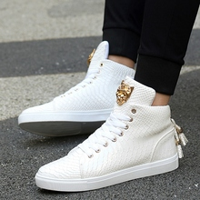Size 35-44 High Top Women Boots Pu Leather Unisex Shoes Round Toe Winter Boots Black Whiter Fashion Booties Winter Shoes Y91