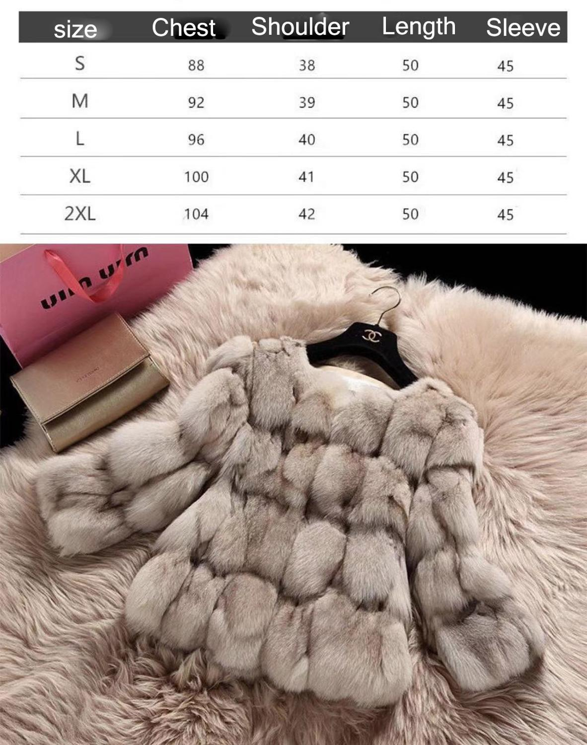 2019Winter New arrival Fashion Colorful  Woman Eskimo Real Fox Fur Clothes