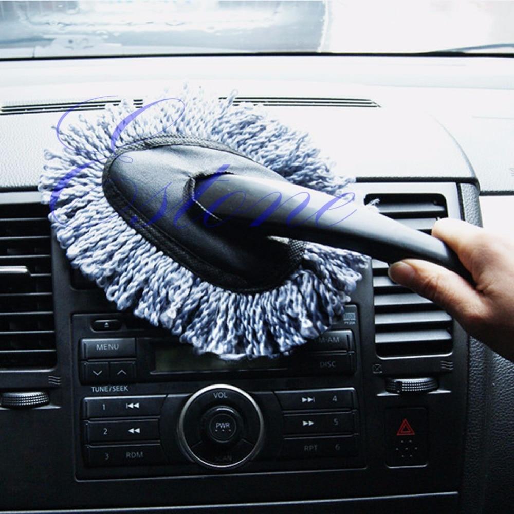 Handy Car Microfiber Interior Home Clean Microfibre Soft Noodle Duster Brush