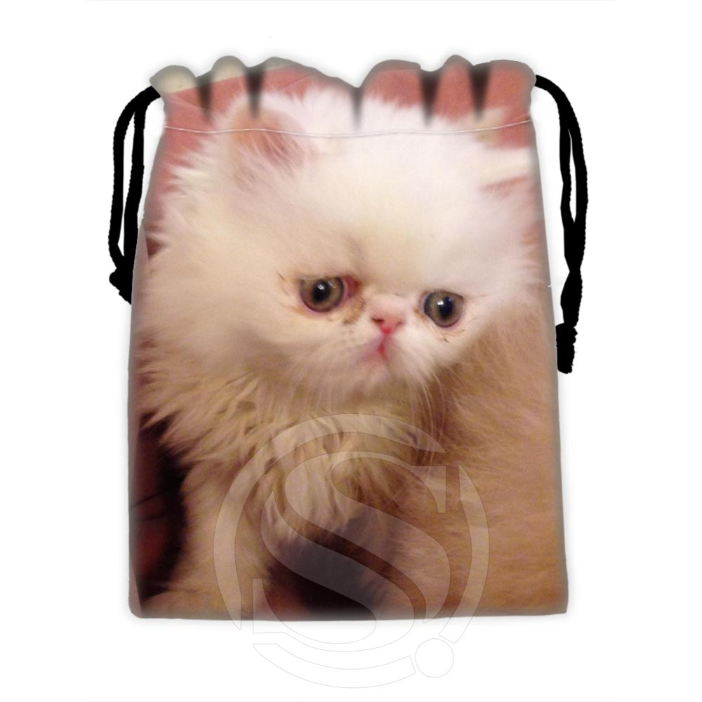 Best Nice Custom lovely cat #7 drawstring bags for mobile phone tablet PC packaging Gift Bags18X22cm SQ00729-@H0547