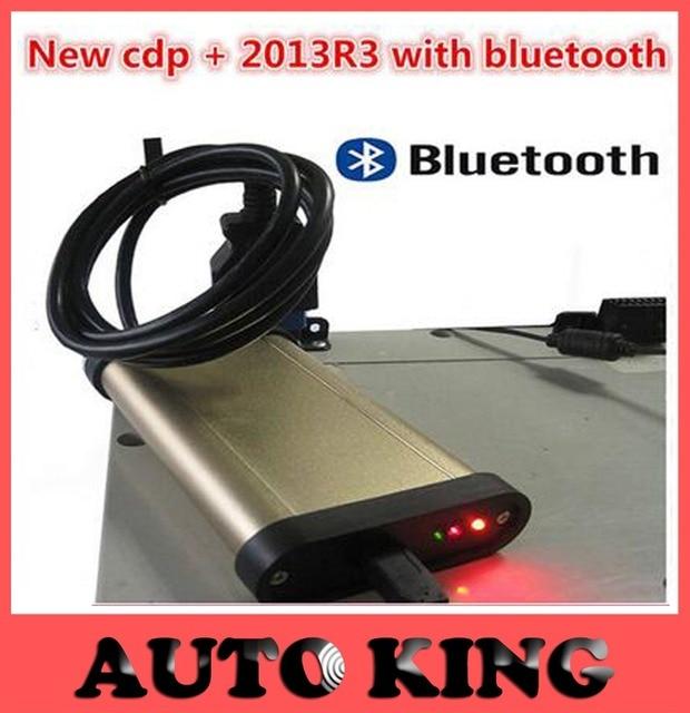 Newest V2014R2/2013.3 Keygen in DVD COM Car Diagnostic tools Gold TCS CDP Pro+bluetooth For Cars / Trucks Auto OBD2 Scanner