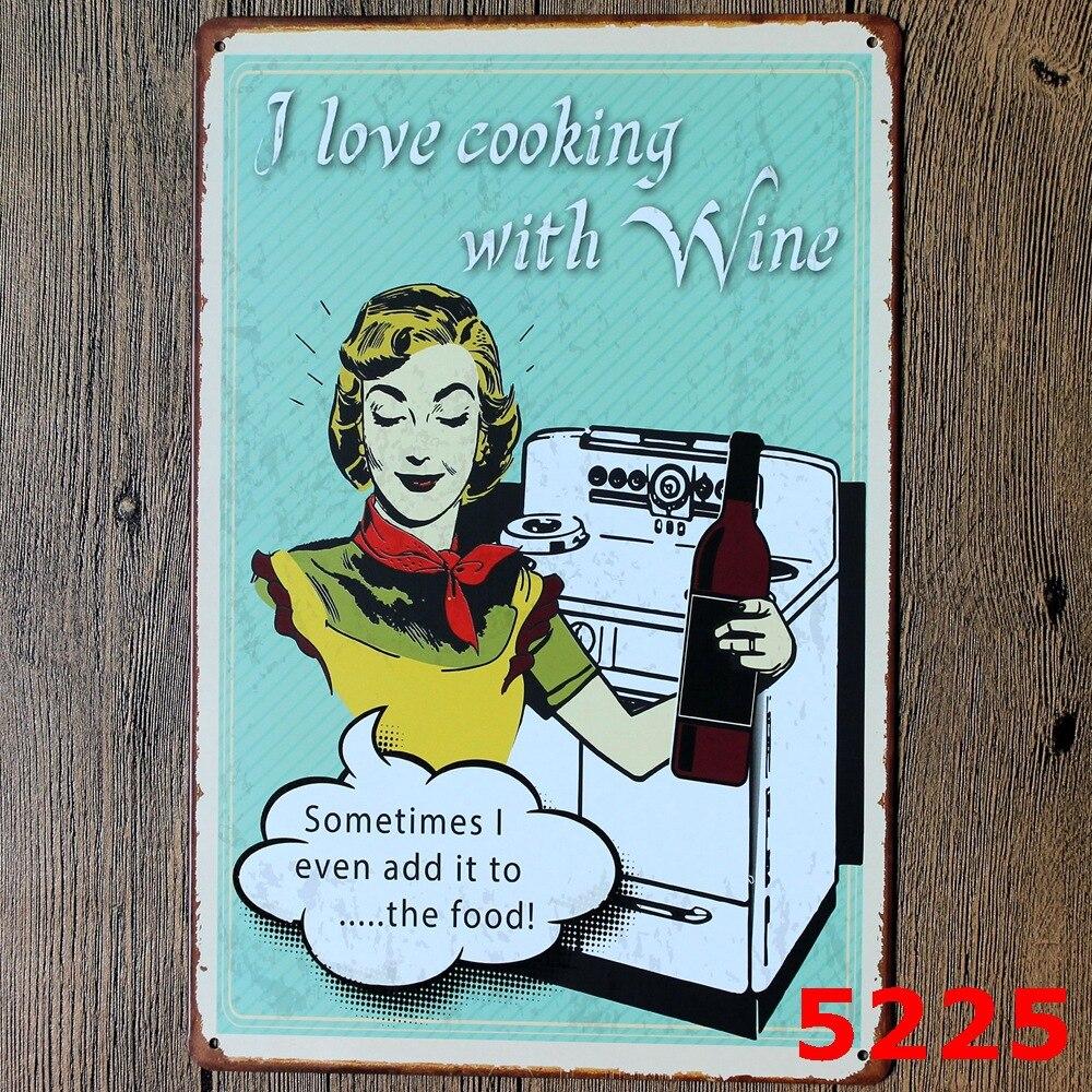 Retro Kitchen Wall Decor Popular Vintage Cooking Posters Buy Cheap Vintage Cooking Posters