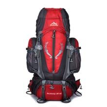 Big 85L Backpack Unisex Men Women Travel Backpacks Waterproof Nylon Rucksack